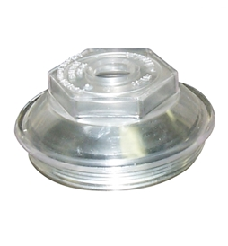 2136 - Dexter 4in OD Plastic Oil Cap 21-36
