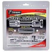 SXTM3123 - SXTM3123 Set-Set: SXTS32  (1/2″ x 5/8″ Span – 100% Stainless Steel Universal Receiver Lock & Sleeve) &  SXTC123 (Stainless Steel Adjustable Coupler Lock*, 7/8″, 2-1/2″ To 3-1/2″ Spans)