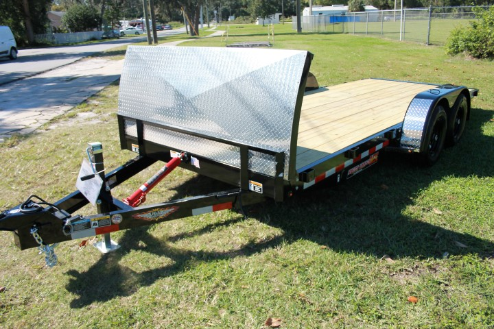 530415 - 2020 7'x18' H&H Low Profile Speedloader Utility Trailer - 530415