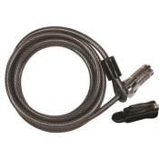 mag10sc - MAG10SC Combination Cable Lock 10'L X 8mm Diameter